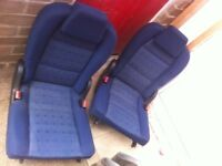 Peugeot 307 SW SE 7 seater 3rd row car seats good condition