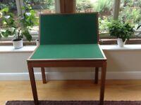 G Plan Teak Card Table / Side Table