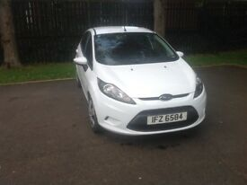 fiesta, 2012 diesel 1.4 98000 miles , two owners from new. £20.00 road tax