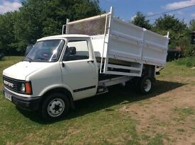 1985 bedford tipper fully restored see pictures its petrol open to sensible offers over £8000