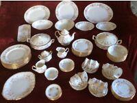 ROYAl DOULTON Dinner/Tea service Victorians Rose design in good order no cracks