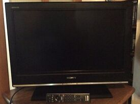 Sony Bravia 26 inch LCD freeview TV with remote, vgc - West Kirby, Wirral