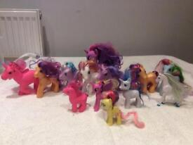 12 my little ponies