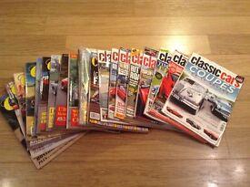 Classic car magazines - 1987 to 2012
