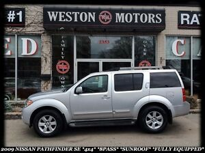 2009 Nissan Pathfinder SE *4X4 *8PASS *SUNROOF *FULLY EQUIPPED