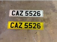Private Registration Number on retention.