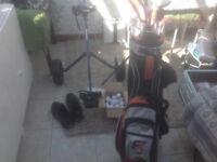 Ram Golf Clubs/Trolley(Used Twice)