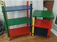 Kids furniture shelves,bedside table