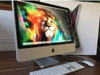 "24""iMac/ 2.4GHz/ 4 Gig Ram/ 120 Gig Solid State Drive/ Boxed Like New"