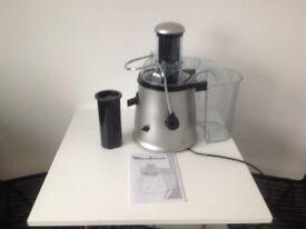 Moulinex electric juicer.