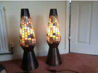 Pair of Art Deco style lights