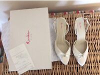 Rainbow club cream sling back shoes size 7