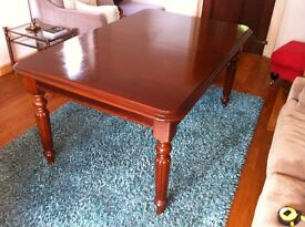 Cherry wood extendable dining table £95 or very near offer