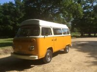 VWt2 Campervan for sale with new engine, new Vanwurks interior and excellent bodywork.