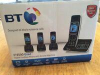 BT 6500 Quad Digital cordless Phones