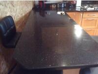 Granite worktop from kitchens international