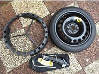 Vauxhall Spacesaver Spare Wheel & Jacking kit