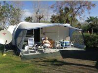 Issabella Sun Blue Canopy .