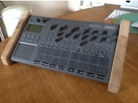 Electribe 2 Synthesiser / Drum Machine with Handmade Hardwood End Cheeks