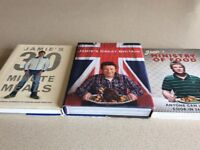 3 x Jamie Oliver Cookery Books £5.00 for all 3