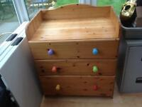 Changing table/drawers