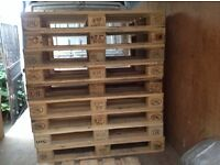 Wooden Euro Pallets for sale