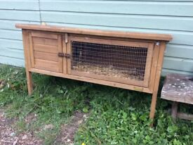 Lovely rabbit hutch