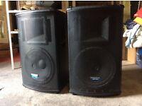 Mackie sa1521 speakers