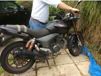125cc keeway in need of TLC, long MOT