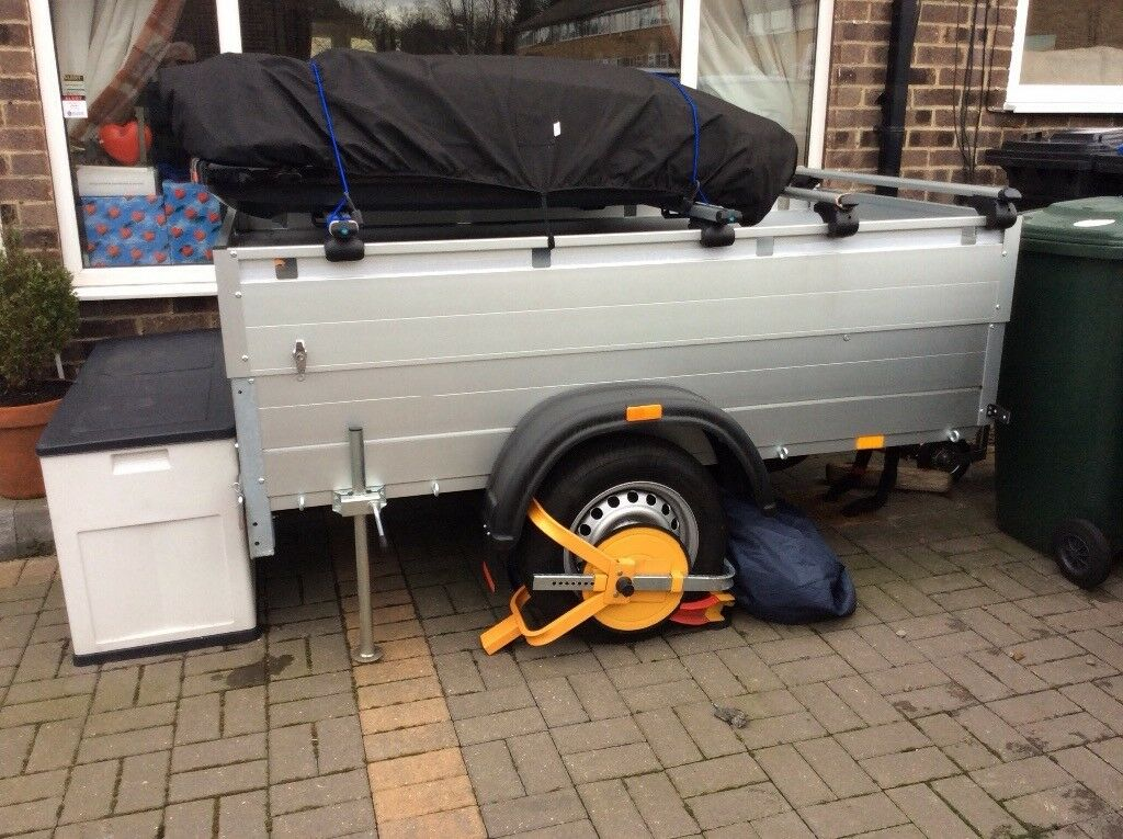 Camping Utility Trailer As New