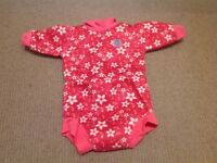 Happy nappy wetsuit pink 6-9 months