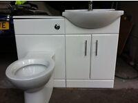 Basin/WC complete Unit