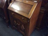 Reduced vintage writing bureau