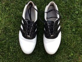 MENS GOLF SHOES - SIZE 8 - WORN ONCE