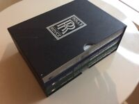 Boxed set of 3 Rolls Royce books