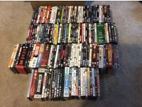DVDs (over 150 including box sets) and Blu Ray (over 20 including box sets)