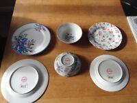 Beautiful brand new cath kidston crockery x4 large plates x4 medium plates x4 bowls