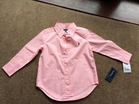 Boys Ralph Lauren Shirt - age 3. Brand new with tags