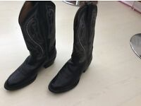Leather Cowboy Boots - Gents size UK 8.5 - BNWL