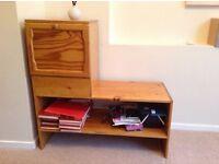 Drinks cabinet/tv stand /shelves