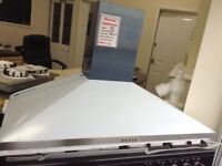 100cm stainless steel cooker hood £60 RRP £169 new/graded 12 month Gtee