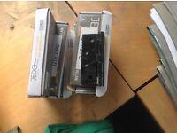 JEDO x8 102 x 76 x 2.7mm black ball bearing hinge