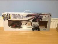 VIRTUALLY INDESTRUCTIBLE R/C HELICOPTER - CRASH-DAMAGE RESISTANT