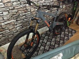 2017 orange five mountainbike
