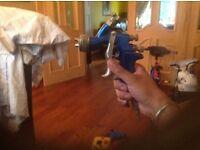 Devilbliss GTI Pro spray painting gun.