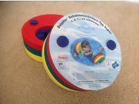 Delphin swim discs / armbands (set of 6)