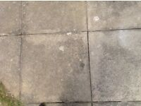 PAVING SLABS WANTED PLEASE - SIZE 450 x 450