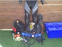 Complete Scuba Diving Set-07912874589