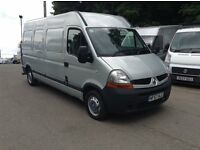 2007 Renault master lwb compressor van perfect mechanics or tyre fitter van