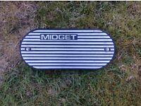 MG midget 1500 cc K&N alloy air filter housing